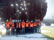 Tanulmányi kirándulás a Gotthárd bázisalagútnál, Svájcban
