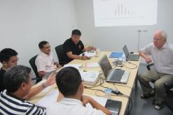 Thai hallgatók konzultálása Bangkokban és konferencia Taipeiben